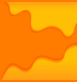 abstract background with orange waves vector image vector image