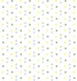 Baby Boy Pastel Polka Dots Seamless Pattern vector image vector image