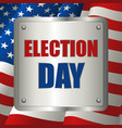 usa election day symbol vector image vector image