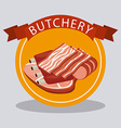 butchery shop vector image