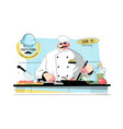 cooking time and culinary project vector image