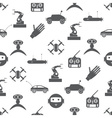 hi-tech modern technology toys simple icons vector image vector image