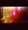 lines composed of glowing backgrounds vector image