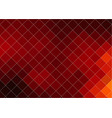 abstract background in red of squares vector image vector image