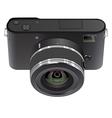 Abstract digital photo camera vector image vector image