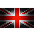 Black Flag British vector image vector image