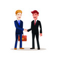 business people at work character vector image vector image