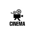 film camera design template vector image