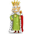 king vector image vector image