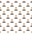 new man avatar pattern seamless vector image vector image