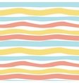 Pattern pastel stripes vector image