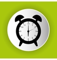 clock icon symbol design vector image