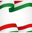 decoration of hungary insignia vector image vector image
