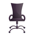 office chair icon cartoon style vector image vector image