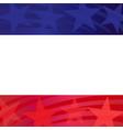american flag symbols decorative frame vector image vector image