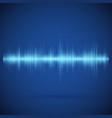 equalizer on blue background music wave abstract