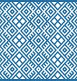 geometric seamless ethnic pattern background vector image