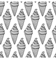 ice cream background vector image vector image