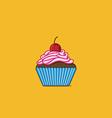 Sweet Cupcake vector image vector image
