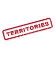 Territories Rubber Stamp vector image vector image