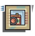 vector camera graphic vector image vector image