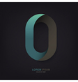 infinite symbol template vector image