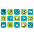 icon education vector image