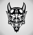 Devil Face Tribal vector image vector image