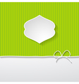 green background with a space for a text vector image vector image