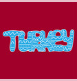 hand-drawn bright lettering with doodles - turkey vector image