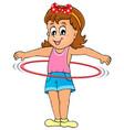 kids play theme image 3 vector image vector image