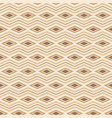seamless pattern of rhombuses and zigzag lines vector image vector image
