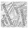 Comic Book Merchandising Word Cloud Concept vector image vector image