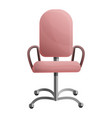 office modern chair icon cartoon style vector image vector image