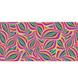 seamless summer pattern with colorful abstract vector image