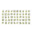 sustainable energy alternative renewable ecology vector image vector image