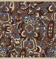 vintage ethnic luxury floral pattern vector image vector image
