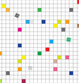 Seamless Grid Abstract Seamless Modern Squares vector image