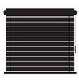 blinds icon on white background flat style vector image vector image