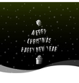 christmas happy new year background vector image vector image