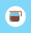 coffee pot icon sign symbol vector image