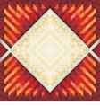 Geometric Vintage Background 10 vector image