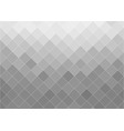gray abstract gradient background with squares vector image