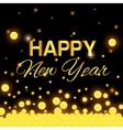 Happy new year 2016 vector image vector image