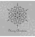 Ornate snowflake vector image