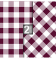 Table Cloth Italian Purple Seamless Pattern Set of