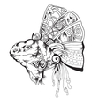 Tribal design graphic vector image vector image