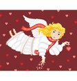 angel love cupid girl vector image vector image