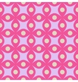 Circle and rhombus color seamless pattern vector image vector image