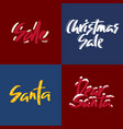 holiday sale christmas discount new year vector image vector image